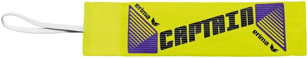 ERIMA KAPITÁNSKÁ PÁSKA NA SUCHÝ ZIP - Žlutá neon/Černá