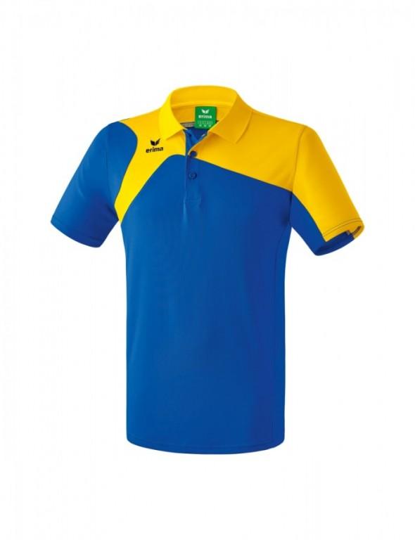 ERIMA CLUB 1900 2.0 POLOKOŠILE - PÁNSKÁ - Modrá/Žlutá