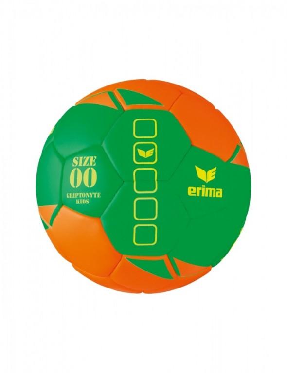 ERIMA GRIPTONYTE KIDS LITE HÁZENKÁŘSKÝ MÍČ vel. 00 - Zelená/Oranžová