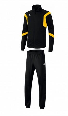 Dětská tréninková tepláková souprava Classic Team - Černá/Žlutá