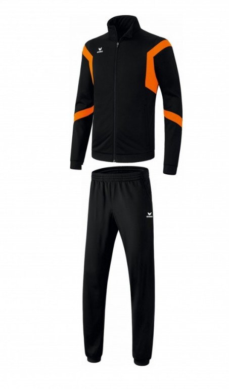 Pánská tréninková tepláková souprava Classic Team - Černá/Oranžová