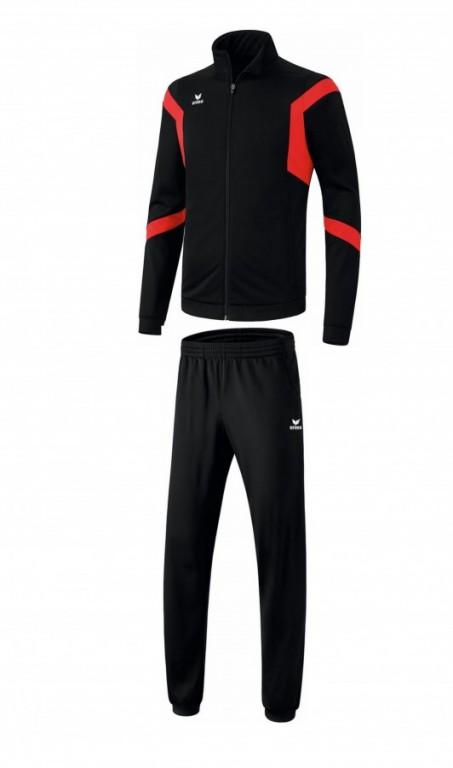 Pánská tréninková tepláková souprava Classic Team - Černá/Červená