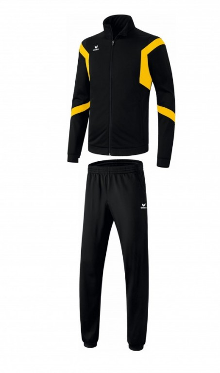 Pánská tréninková tepláková souprava Classic Team - Černá/Žlutá