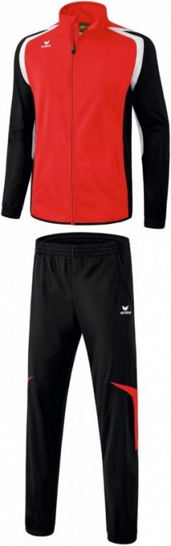 Dětská tréninková tepláková souprava Razor 2.0 - Červená/Černá/Bílá