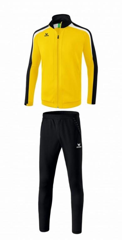 ERIMA dětská tréninková tepláková souprava LIGA 2.0 - Žlutá/Černá/Bílá